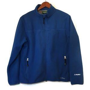 L. L. Bean Blue Fleece Jacket Size M